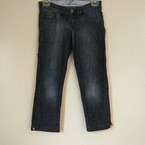 Mavi Jeans Women's Denim Capri Pants Size 25